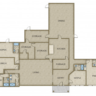 Lodge Full Floor Plan