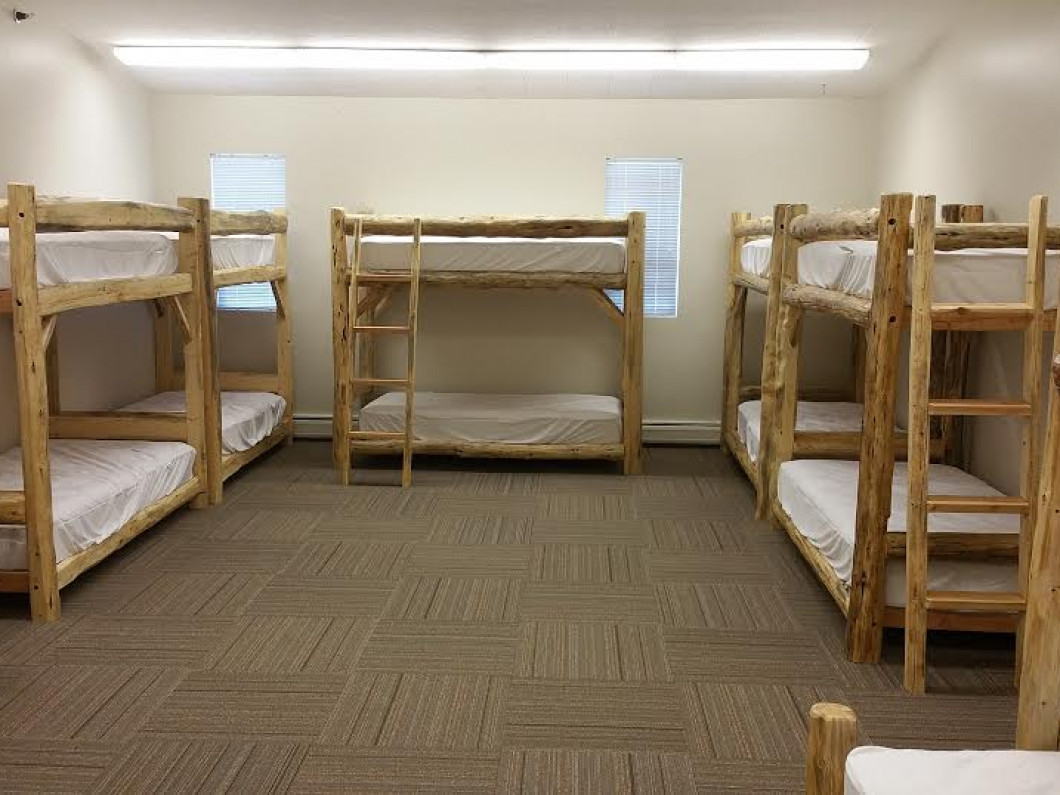 Gymnasium Sleeping Space (Sleeps 59)
